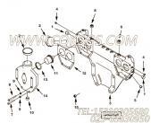 【节温器盖】康明斯CUMMINS柴油机的3240964 节温器盖