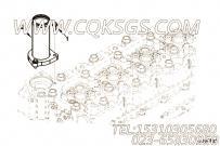 【出水口连接】康明斯CUMMINS柴油机的3954918 出水口连接