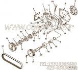 AR45189水泵张紧轮总成,用于康明斯NT855-C280动力基础件组,更多【供液泵车】配件报价