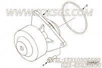 【柴油机6CTA8.3-M188的水泵组】 康明斯O形密封圈报价,参数及图片
