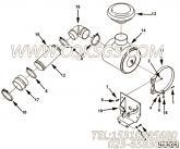 【空气净化器支架】康明斯CUMMINS柴油机的3331410 空气净化器支架