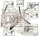 【线束】康明斯CUMMINS柴油机的3083770 线束