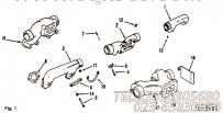 3029614排气管中段,用于康明斯NTA855-C360柴油发动机排气管及安装组,更多【河南电力牵张】配件报价