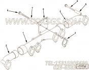 4003994排气管,用于康明斯M11-C175柴油发动机排气管组,更多【军品车】配件报价