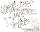 【排气管】康明斯CUMMINS柴油机的3629580 排气管