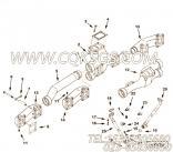 【柔性软管】康明斯CUMMINS柴油机的3630906 柔性软管
