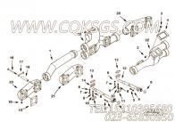 3037821衬垫,用于康明斯KTA38-C1050动力排气管组,更多【泰安航天修井机】配件报价