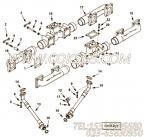 3632338软管,用于康明斯KTA38-M1发动机排气管组,更多【船舶用】配件报价