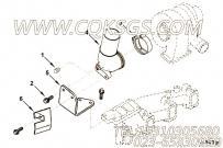 【发动机QSB6.7-G6的增压器排气连接件组】 康明斯排气管报价,参数及图片