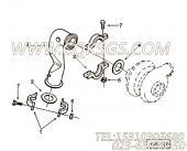 【柴油机C260 33的增压器排气连接件组】 康明斯管夹报价,参数及图片