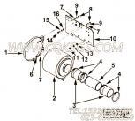 【空气净化器支架】康明斯CUMMINS柴油机的4099792 空气净化器支架