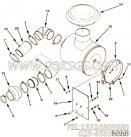 3335044六角螺栓,用于康明斯M11-350柴油机加油口位置及手孔盖组,更多【抽沙船用】配件报价