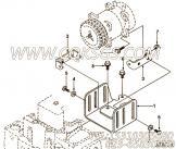 【柴油机6CTA8.3-C175的空调压缩机安装件组】 康明斯空调压缩机支架报价,参数及图片