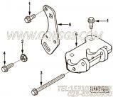 【3920778】空调压缩机支架 用在康明斯柴油机