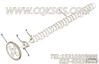 【凸轮轴】康明斯CUMMINS柴油机的3895650 凸轮轴