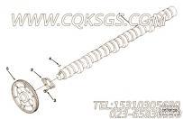 3087856凸轮轴,用于康明斯M11R-290主机性能件组,更多【船舶机械】配件报价