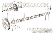 68908螺栓锁紧片,用于康明斯KTA38-C1200主机机油吸油管组,更多【轨道车】配件报价
