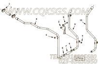 【压缩机进气口管】康明斯CUMMINS柴油机的4949698 压缩机进气口管