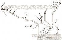 【压缩机进气口管】康明斯CUMMINS柴油机的4922076 压缩机进气口管