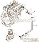 【压缩机进气口管】康明斯CUMMINS柴油机的3915077 压缩机进气口管
