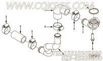 【压缩机进气口管】康明斯CUMMINS柴油机的4931606 压缩机进气口管