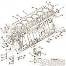 3895837气缸体,用于康明斯M11-C330动力气缸体组,更多【襄樊金鹰轨道车】配件报价