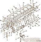 【主轴承盖】康明斯CUMMINS柴油机的3801279 主轴承盖