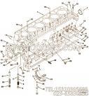 3895832双头螺栓,用于康明斯M11-C350 E20柴油发动机气缸体组,更多【扫雪车】配件报价