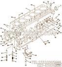 142207定位销,用于康明斯M11-C300主机气缸体组,更多【装载机】配件报价