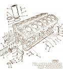 【缸套】康明斯CUMMINS柴油机的AR9311 缸套
