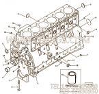 【柴油机6BTA5.9-C165的缸体组】 康明斯报价,参数及图片