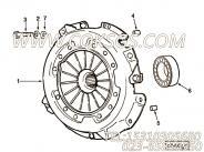 【离合器】康明斯CUMMINS柴油机的3279109 离合器