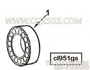 【柴油机ISZ480 40的离合器组】 康明斯一轴轴承报价,参数及图片