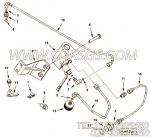 【柔性软管】康明斯CUMMINS柴油机的4101099 柔性软管