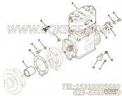 【空气压缩机】康明斯CUMMINS柴油机的3016642 空气压缩机