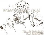 【空气压缩机】康明斯CUMMINS柴油机的3103403 空气压缩机