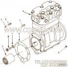 【空气压缩机】康明斯CUMMINS柴油机的4071225 空气压缩机