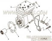 【空气压缩机】康明斯CUMMINS柴油机的3104324 空气压缩机