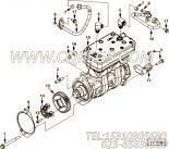 【空气压缩机】康明斯CUMMINS柴油机的3686476 空气压缩机