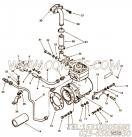3023084空压机支架,用于康明斯KT19-C450动力空压机组,更多【陕建稳定土拌合机】配件报价