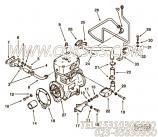 【软管】康明斯CUMMINS柴油机的63604 软管