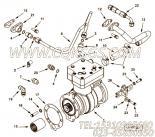 【空气压缩机】康明斯CUMMINS柴油机的4953628 空气压缩机