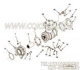 【空气压缩机】康明斯CUMMINS柴油机的4080233 空气压缩机