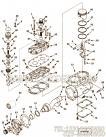【空气压缩机支持】康明斯CUMMINS柴油机的3559116 空气压缩机支持