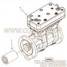 【空气压缩机】康明斯CUMMINS柴油机的4080330 空气压缩机