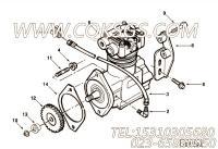 【空气压缩机】康明斯CUMMINS柴油机的3279158 空气压缩机