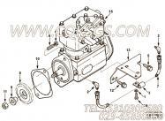 【柴油机B235 20的空压机组】 康明斯六角法兰面螺母报价,参数及图片