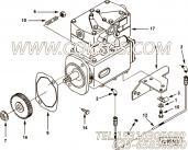 【空气压缩机】康明斯CUMMINS柴油机的3927351 空气压缩机