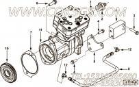 【发动机ISL9.5-340E40A的空压机组】 康明斯安装隔块报价,参数及图片