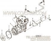 【空气压缩机】康明斯CUMMINS柴油机的3969125 空气压缩机